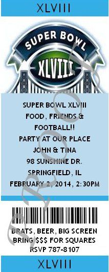 NY NJ Superbowl Host Party  Superbowl XLVIII Party  #superbowl #football #2014 #partyshelf