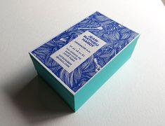 Badcass - Carte de visite en letterpress - Ostéopathe