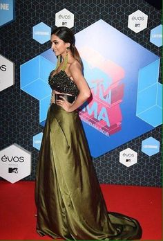 Deepika Padukone today attended the MTV EMA awards at Rotterdam. The dimpled beauty of Bollywood sported a Monisha Jaising creation as she presented ...