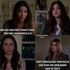 Shay Mitchell (Emily Fields) , Troian Bellisario (Spencer Hastings) , Lucy Hale (Aria Montgomery) , & Ashley Benson (Hanna Marin) - Pretty Little Liars