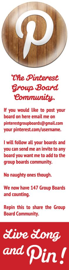 Group Board Community to help you market your boards