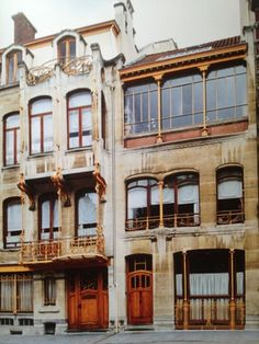 Victor Horta's house  Brussels  1898-1901
