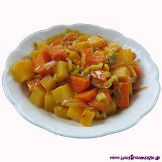 Steckrüben-Karotten-Curry