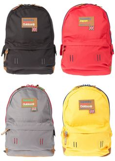 I really like these under-stated colours / Superdry Montana Backpack