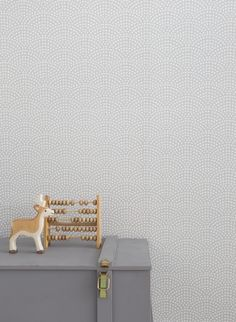 Little Dutch Wallpaper Waves Beige  Cheer up a bland wall in your baby's nursery with our new range of wallpaper! It creates a beautifull starting point for decorating and styling your mini's room.  #baby #nursery #wallpaper #beige #kidsroom #babyroom #nurseryinspiration