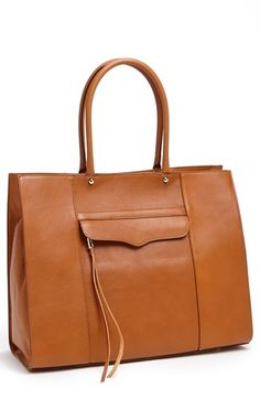 Rebecca Minkoff 'M.A.B.' Leather Tote available at #Nordstrom. Morning after bag 3110.97 pesos con 25% de descuento.
