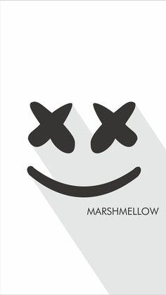 Marshmello Marshmallow Edm Music Wallpaper Screen Wallpaper Mobile Wallpaper Cool Wallpaper