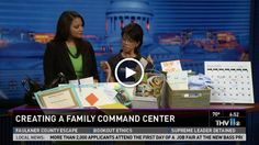 Create a 'family command center' with The Container Store