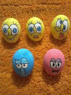 #SpongeBob #BobEsponja #EasterEggs #HuevosDePascua