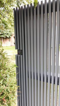 Steel Gate Design, Main Gate Design, House Gate Design, Door Gate Design, Entrance Design, Small Patio Design, Modern Fence Design, Front Gates, Entrance Gates