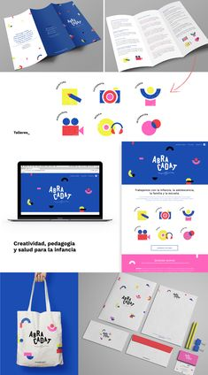 Branding for Abracadat Brand Identity Design, Graphic Design Branding, Corporate Design, Logo Design, Corporate Identity, Brochure Design, Event Branding, Kids Branding, Logo Branding