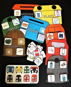 Produkt - Třídění odpadu Market Research, Monopoly, Marketing, Games, Montessori, Sustainability, Gaming, Toys