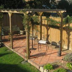 Bradstone, Tile Paving Mellow Terracotta 300 x 300 - 96 Per Pack Concrete Slab Patio, Patio Slabs, Brick Paving, Patio Tiles, Limestone Paving, Garden Pavers, Garden Tiles, Backyard Patio Designs, Backyard Landscaping