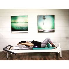 On the seventh day of Christmas Pilates gave to me: seven Half Roll Back Waterfalls. Try it on a  or on a  (your strap length will greatly effect the tension). The more tension you use, the more you will target the upper body. The less tension used, the more you will work through your core. Please don't over extend the cervical spine  Video is sped up 1.5 times so you can see the flow. --------------------------------------Here's the scoop for those just joining in ❄️ I will post one vi...