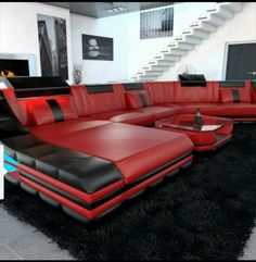 Such a modern couch! Love it!