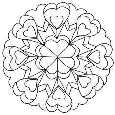 mandalas | Imágenes para imprimir y colorear de Mandalas