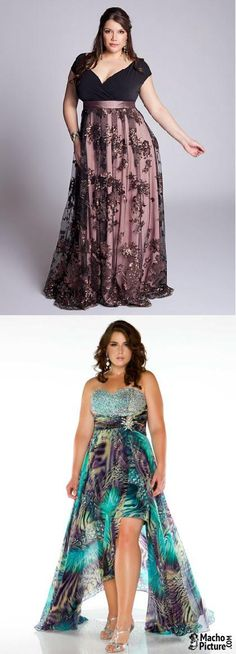 Plus size formal dresses - 3 PHOTO!
