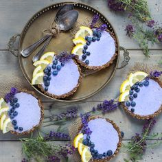 This lavender tarts are really aromatic, naturally sweet and sour from all natural ingredients to make your day fresh and bright like lavender field.