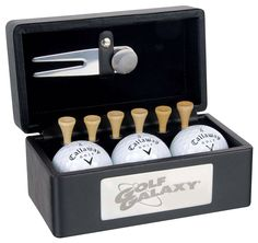 Merchandise ideas for sports clubs to sell, fundraising idea Golf Gift Boxes Corporate Giveaways, Corporate Gifts, Promotional Items For Business, Promo Gifts, Diy Gift Baskets, Golf Gifts, Unique Presents, How To Memorize Things, Things To Sell