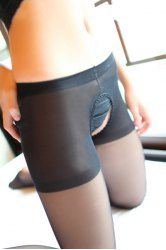 See-Through Sexy Style Cut Out Slimming Women's Pantyhose