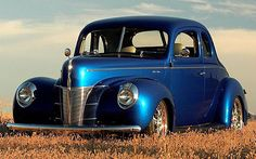 1940 Ford Deluxe Coupe..Re- pin brought to you by #lLowcostcarIns. at #HouseofInsurance #Eugene,Oregon