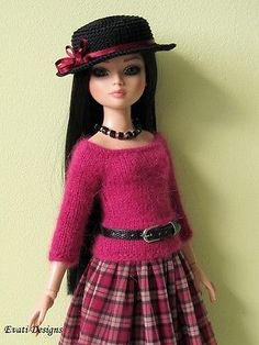 Evati OOAK Outfit for Ellowyne Wilde Amber Lizette Tonner 1 | eBay. Sold for $117.50 on 10/27/13