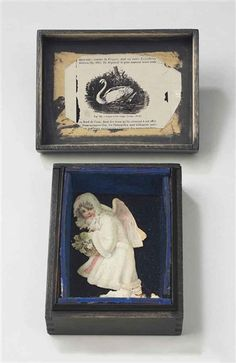 Joseph Cornell, Untitled (Swan and Snow Maiden)
