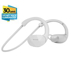 Besign SH01 Wireless Bluetooth V4.1 Headphones with Built-in Mic, White. High-quality Sound: Latest Wireless Bluetooth 4.1 Technology with A2DP stereo music, clear sound, ideal for high quality music. Powerful audio driver offers balanced audio and crystal clear sounds with dynamic base performance. Noise Cancellation Technology: Built-in microphone with CVC6.0 noise cancellation let you get high quality, hands-free phone conversation with clear voice even in noisy environment like inside…