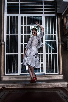 Hungarian influencer in AWAclothes skirt and blouse§ I Dress, Shirt Dress, Blouse, Hungarian Girls, Slow Fashion, Skirts, How To Wear, Fashion Design, Clothes