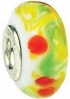 "$35.00 Fenton Art Glass Handpainted Bead ""Jelly Beans"" | Piper Lillies Gift Shoppe http://piperlillies.com"