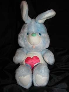 Only $24.99!  1984 Kenner Care Bear Cousin Swift Heart Rabbit Vintage Collectible Lovey Toy 15 |  eBay yep..... SCOTTSDALE AS WELL