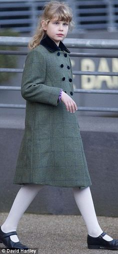 Lady Louise Windsor joins her parents The Earl and Coutess of Wessex during the Christmas Meeting at Ascot