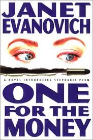 One For the Money by Janet Evanovich (and the rest of the series) - The book that introduces hapless bondsman Stephanie Plum, her gun-toting grandma, her ex-hooker sidekick, her hot boyfriend, and constantly blown-up car, along with a dozen other colorful characters that populate her Trenton, New Jersey life. - Click to borrow now!