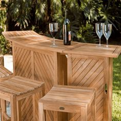Portable And Sectional Patio Bar Furniture, Light Outdoor Home Bar Designs
