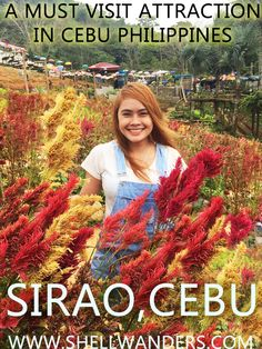 Cebu Sirao Garden : How to Get There Philippines Cebu, Philippines Travel, Travel Pictures, Travel Photos, Travel Guides, Travel Tips, Places To Travel, Travel Destinations, Online Travel
