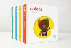 A fun way for toddlers to read with Touch Think Learn books Pey adores these books. I love the bright colors and cute art work.