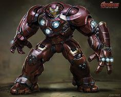 HulkBuster 7 Avengers 2 Avengers: Age of Ultron Concept Art Reveals Alternate Ultron & Hulkbuster Designs