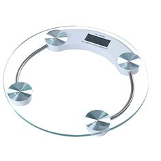 buy now   £10.01   This is an electronic weight scale which can measure body weight. It features toughened glass weighing platform which is firm and easy to clean. It is also  ...Read More