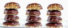 healthy girl scout tagalong cookies!
