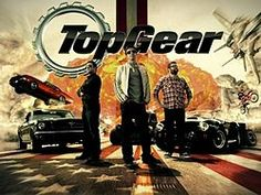 Top Gear USA  I like seeing the ridiculous challenges they come up with, these guys are fun.