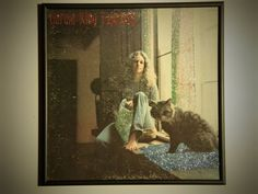 Glittered Record Album  Carole King  Tapestry by GlitterFX on Etsy, $50.00