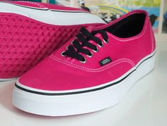 Hot Pink | hot pink vans | Flickr - Photo Sharing!