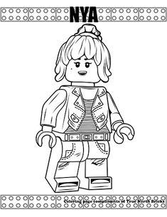 Coloring Page Green Arrow Free Lego Coloring Pages