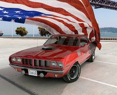 'Cuda American muscle cars are a standard feature of a auto marketplace for decades. Ford Mustang, Mustang Cars, Pontiac Gto, Chevrolet Camaro, Camaro Ss, Chevy Silverado, Automobile, Plymouth Barracuda, American Muscle Cars