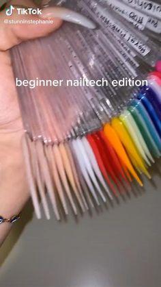 Acrylic Nail Supplies, Acrylic Nail Designs Coffin, Acrylic Nails At Home, Acrylic Nail Tips, Simple Acrylic Nails, Summer Acrylic Nails, Polygel Nails, Diy Nails, Hair And Nails