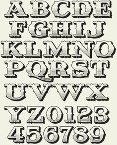 Letterhead Fonts / LHF Riverboat / Old Fashioned Fonts Briefkopf-Schriften / LHF Riverboat / altmodische Schriften This image has. Tattoo Lettering Fonts, Lettering Styles, Graffiti Lettering, Block Lettering, Typography Letters, Block Letter Fonts, Book Letters, Alphabet Letters, Old Fashioned Fonts