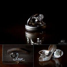 Reflective rings and Bridal bling shoes.   © Matt Ramos