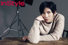 Ji Chang Wook - InStyle Magazine January Issue '14