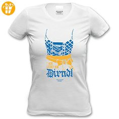 f927e5252070 Damen Girlie Trachten T-Shirt Outfit zur Lederhose I hob leider koa Dirndl  Oktoberfest Wiesn Volksfest und Party Farbe  weiss  Amazon.de  Bekleidung