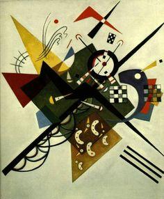 Kandinsky On White 2